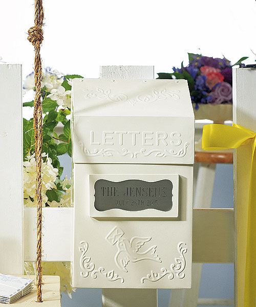 Vintage Wedding Gift Card Box : ... Antique Book Box , Special Delivery Letter Box , Vintage Suitcase Card