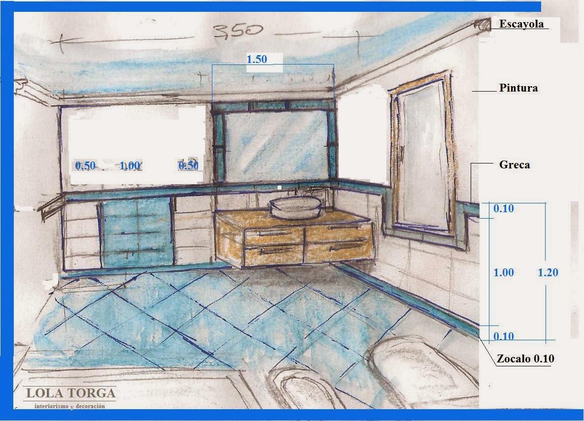 Baño Juvenil Decoracion:Interiorismo y Decoracion Lola Torga: Un baño muy Juvenil