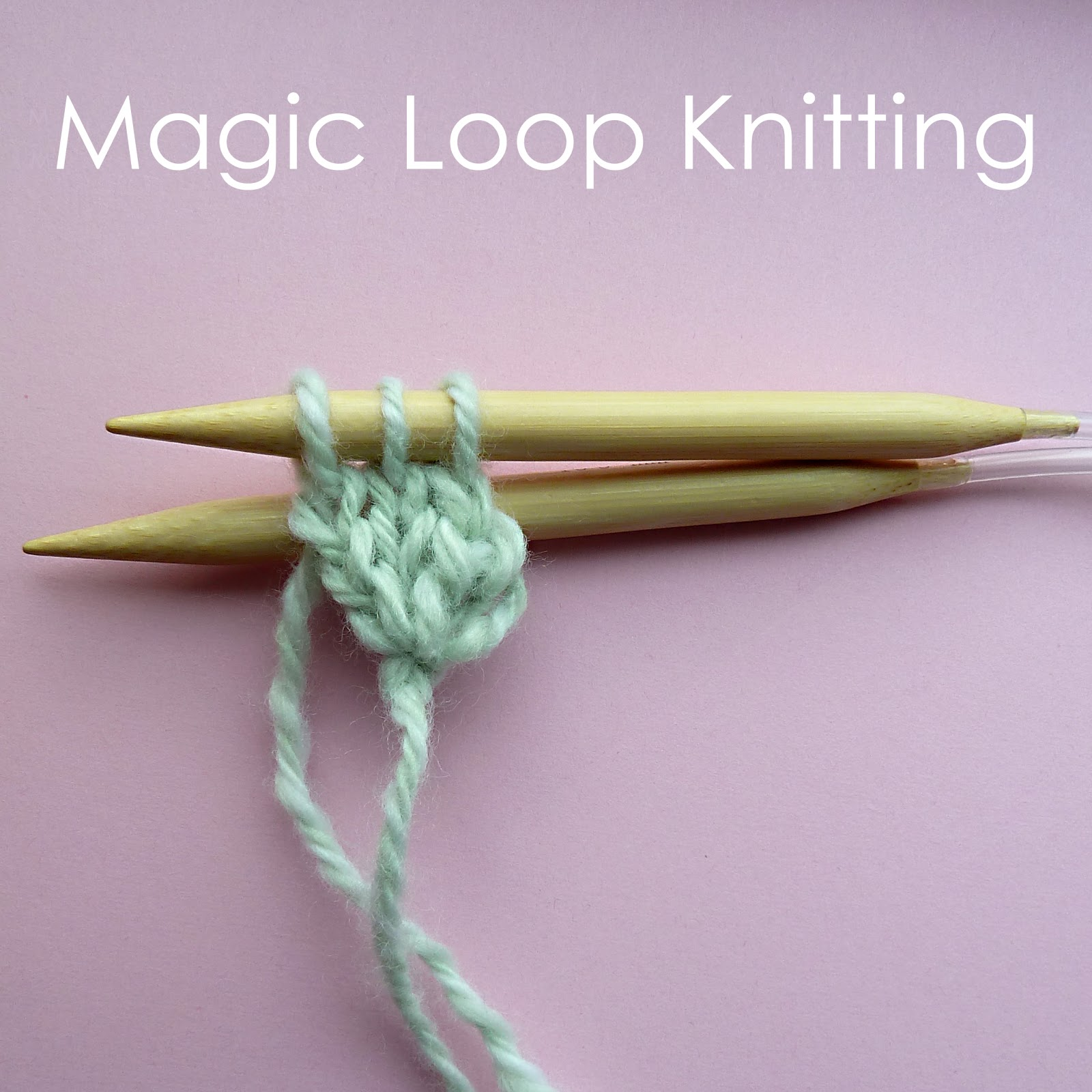 Circular cast on and magic loop knitting Craft me Happy!: Circular cast on ...