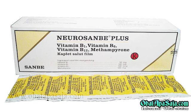 Dosis Komposisi dan Harga Neurosanbe 5000 (Vitamin B)
