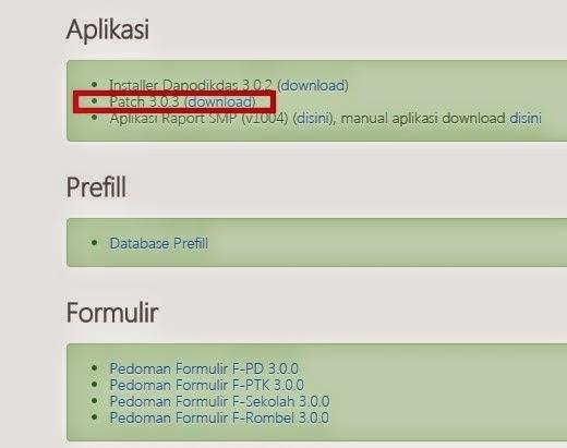 gambar aplikasi dapodik 3.0.4