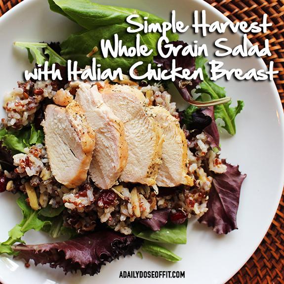Betty Crocker, Suddenly Grain Salad, meal prep, whole grains, chicken recipe, dinner, ad