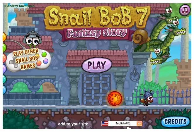 snail bob 7 games online