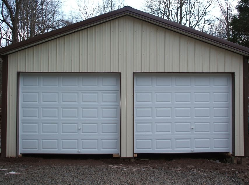 Cheap pole building garage kits maryland for Cheap barn kits