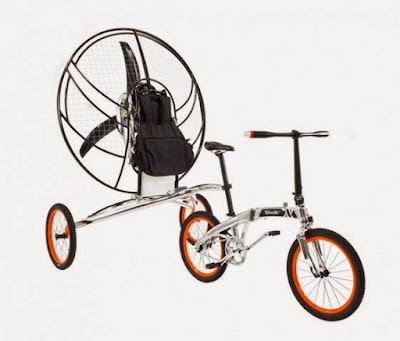 flying to camping bike