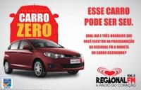 Promoção Carro Zero Regional FM