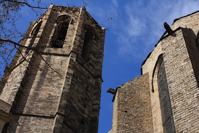 Bell tower of Santa Maria del Pi