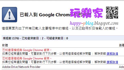 google模組衝突