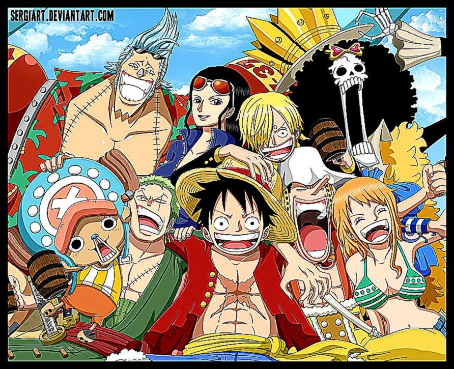 One Piece Crew Background Hd Wallpaper Important Wallpapers
