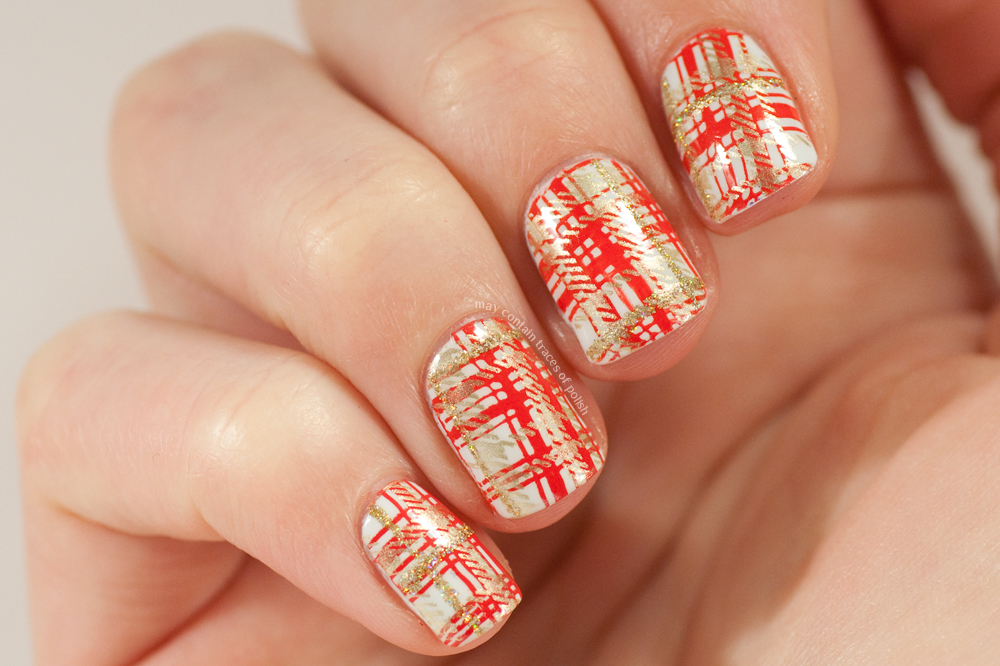 Pleated nails - May contain traces of polish