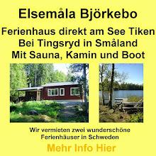 Ferienhaus Björkebo in Schweden