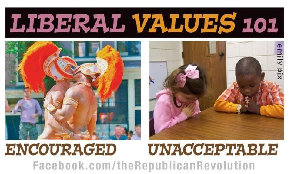 traditional families anathema liberal contravene moral relativism driving force liberalism