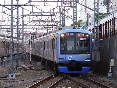 東急東横線 副都心線・東武東上線直通 各停 志木行き1 Y500系