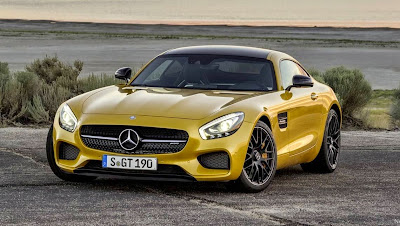 Incroyable Mercedes Benz Sports Car Cool Yellow