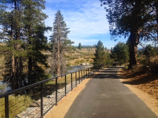 Katie Talks Tahoe Truckee River Legacy Trail Get Out And Explore