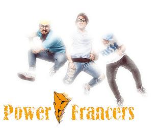 Copertina del disco dei Power Francers