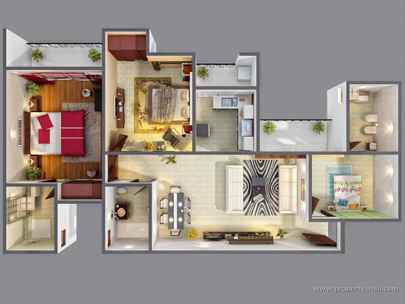3d home plans for 3d house design free