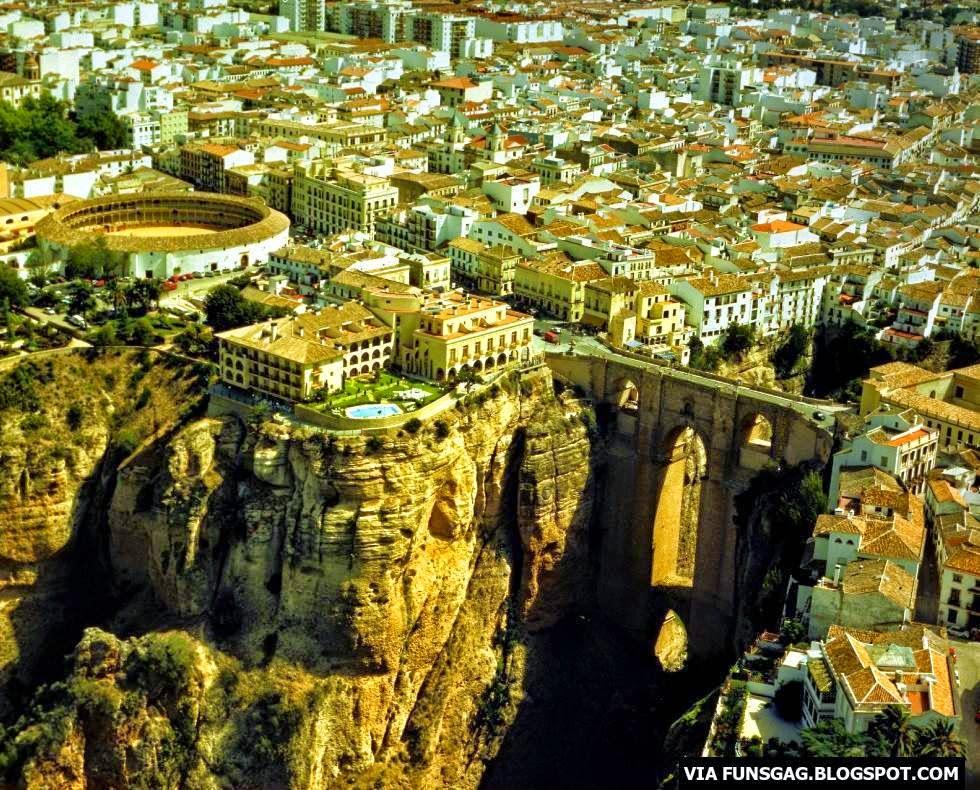 Ronda in South Spain
