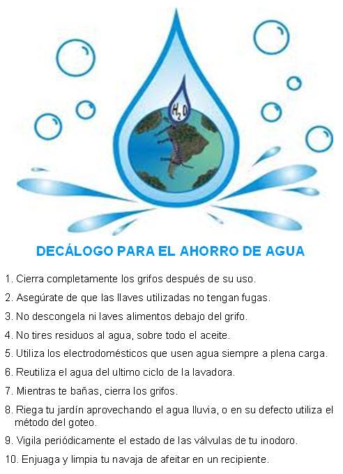 Tecnicas para el ahorro de agua - Tecnicas de ahorro ...