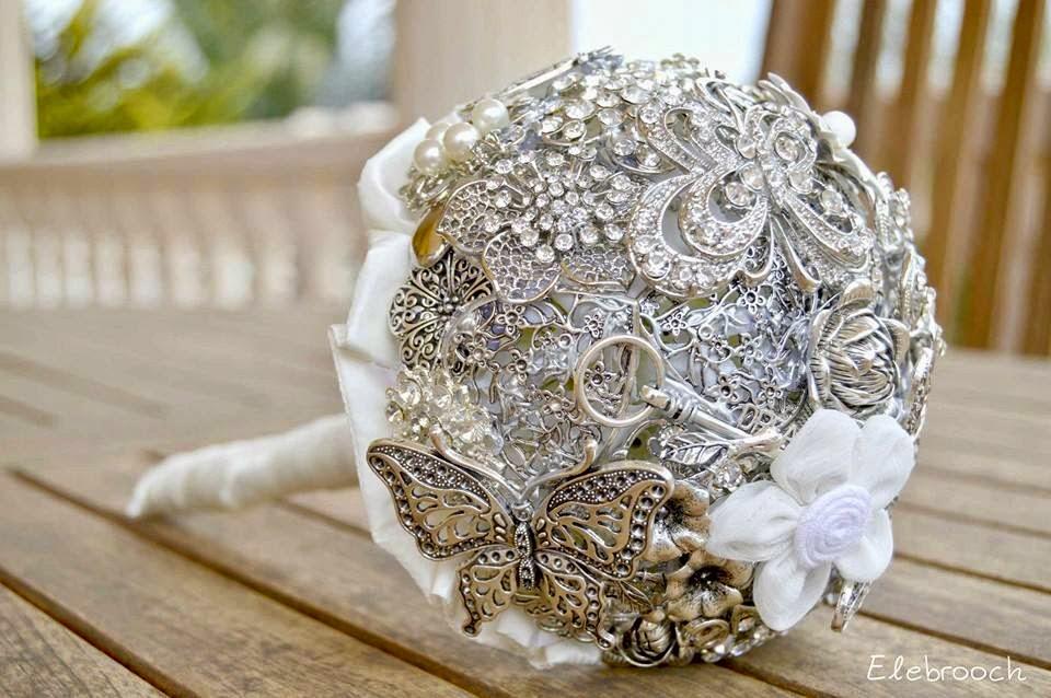 ramos de broches elebrooch boda barroca blog mi boda gratis