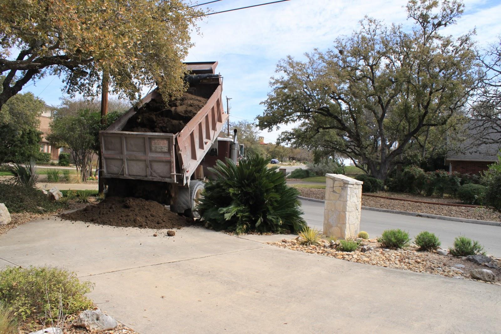 10 Tons Of Dirt : Rock oak deer sixteen tons and what did we get topsoil