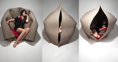 bukanklikunic.blogspot.com - Womb Chair, Kursi Unik yang Terinspirasi dari Rahim Ibu