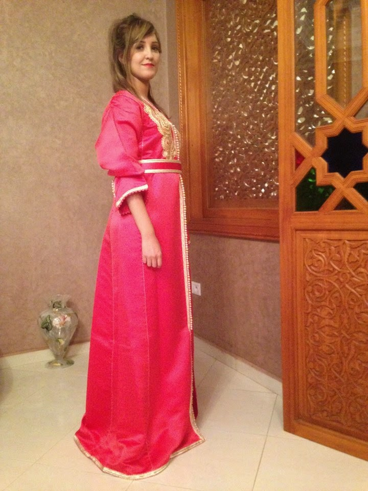 caftan simple rose