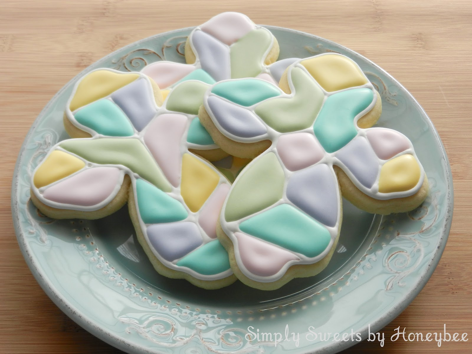 Mosaic Cross Cookies