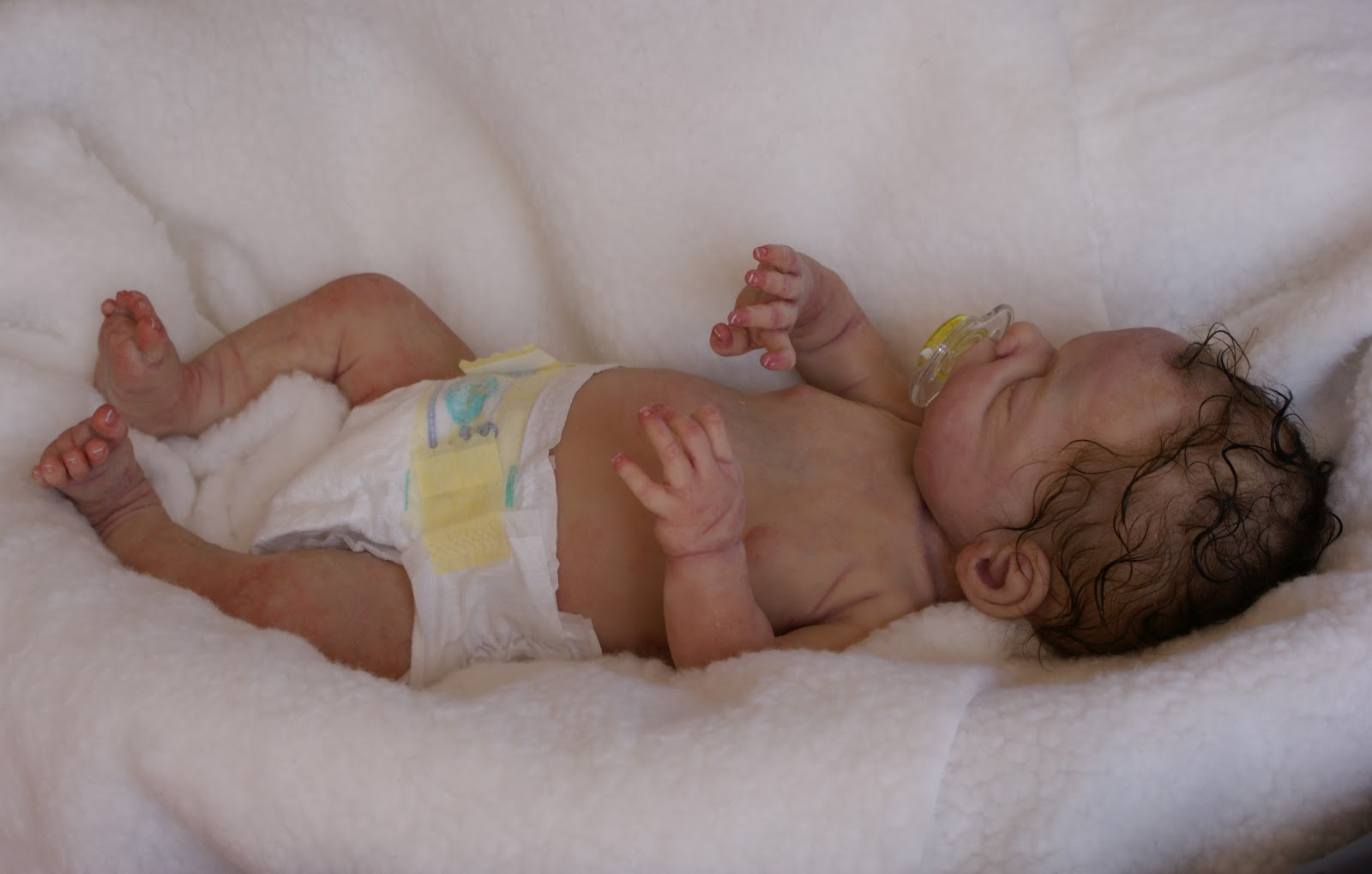 Thistleberry Babies Aliona Full Body Solid Silicone Baby
