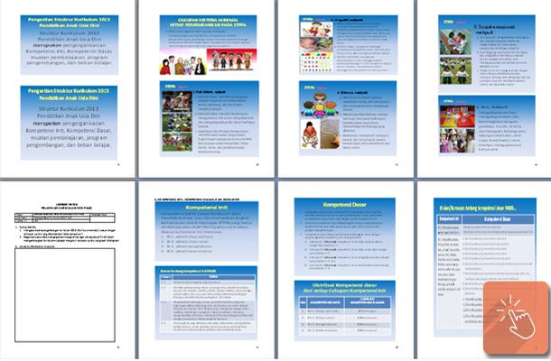 Modul Belajar Struktur Kurikulum PAUD 2013