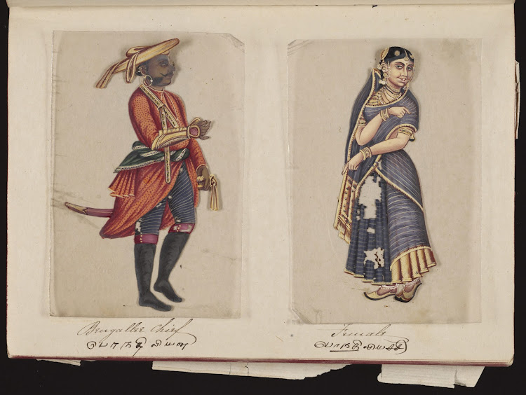 Bengallee Chief and Female