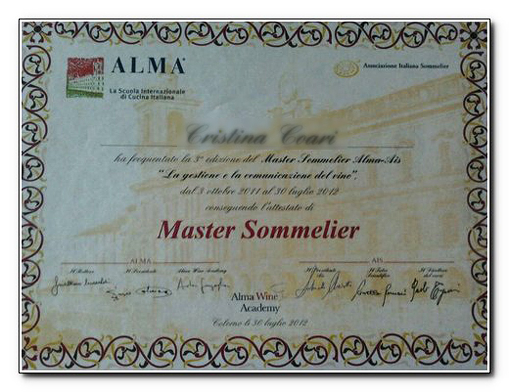 do you want to be a master sommelier? fast-track it in italy for ... - Master Cucina Italiana