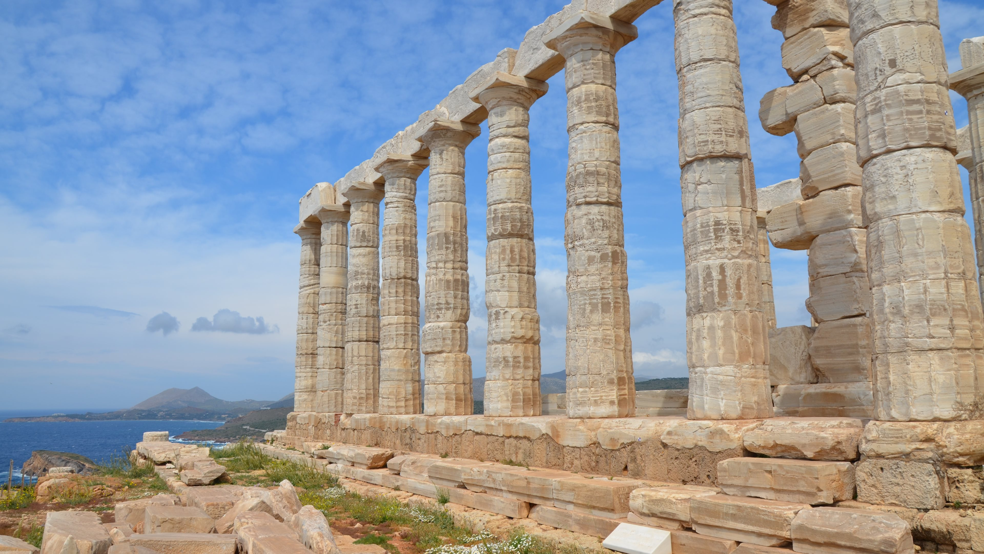 Temple of Poseidon Wallpapers :: HD Wallpapers