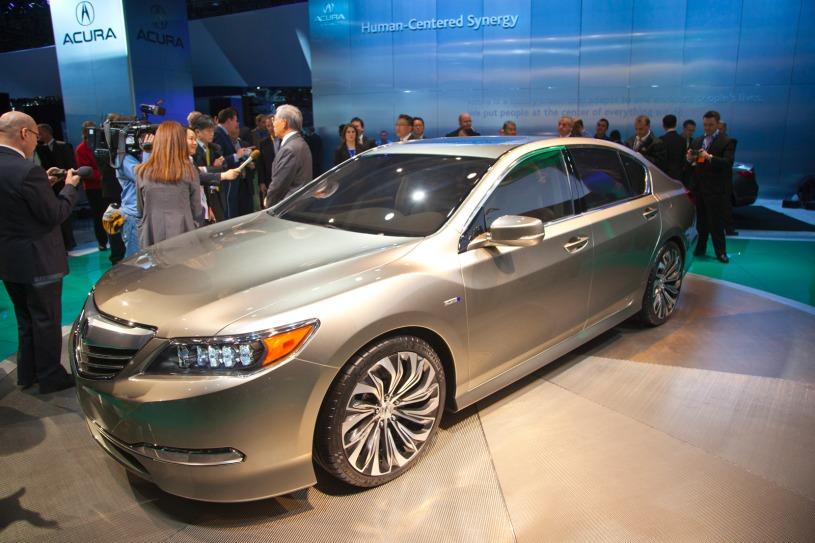LA Debut:2014 Acura RLX