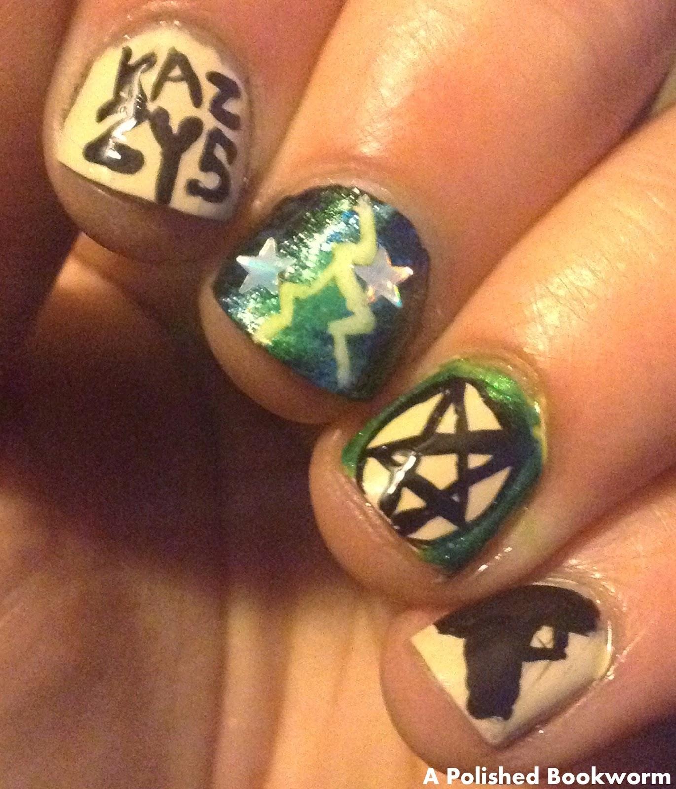 Supernatural (The TV Show) Inspired Nail Art