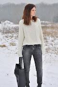 Dzisiaj zwyczajnie :) Jest mój ulubiony sweter, są moje ulubione dżinsy i .