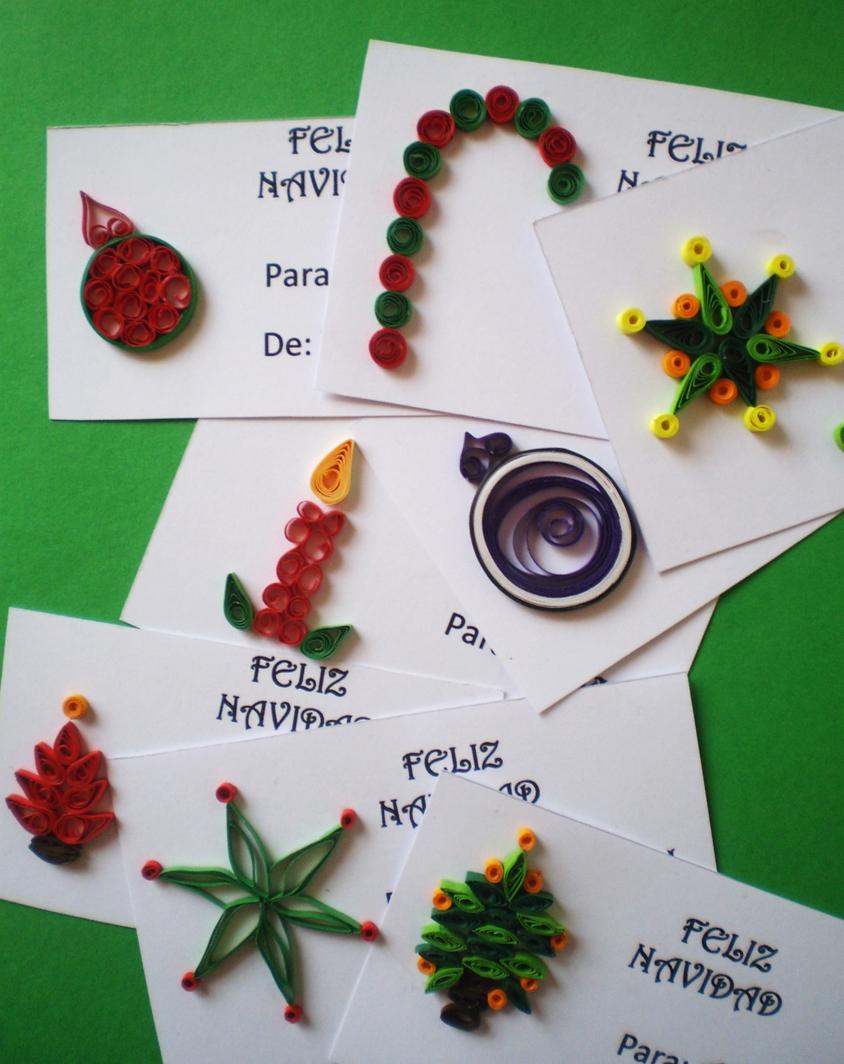 Manualidades tres angeles papel - Tarjetas de navidad de ninos ...