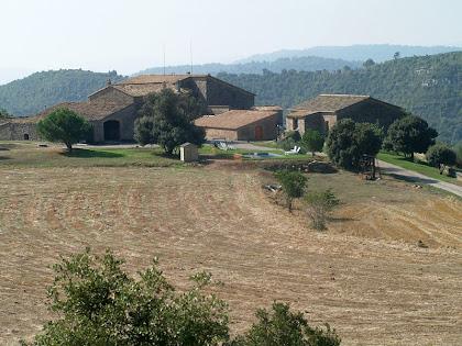 La Serra de Cap de Costa vista des del nord