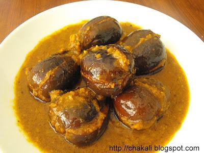 bharli vangi, baghara baingan, stuffed eggplant