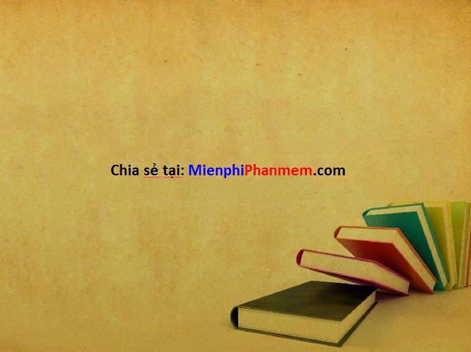 Hình nền PowerPoint hình sách