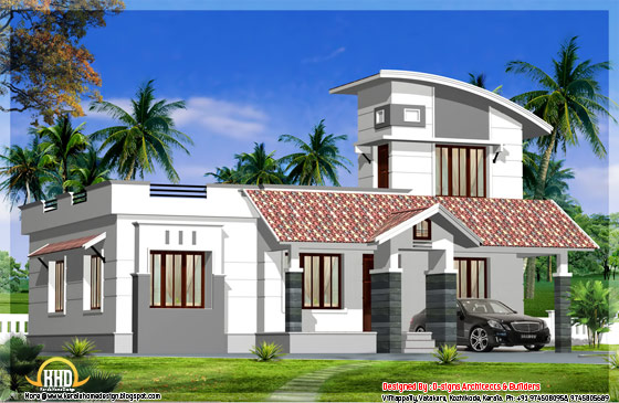 1200 Square Feet single floor home design - May 2012