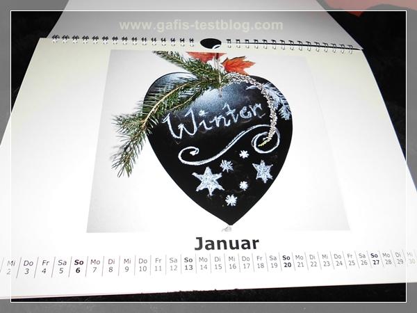 Wand-Fotokalender
