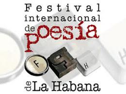 XVI FESTIVAL INTERNACIONAL DE POESÍA DE LA HABANA