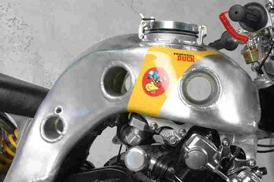 "Honda CBX ""Pregnant Duck"" by Totti Motori"