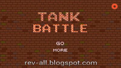 Tampilan utama permainan tank battle 1990 - permainan jadul tank musuh tank di android (rev-all.blogspot.com)