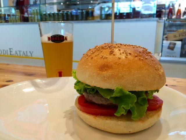Hamburgers in Rome
