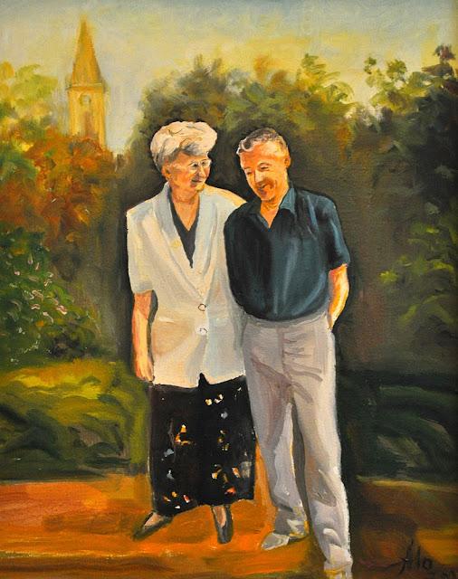 Alina Sala - portret państwa Chochowskich.