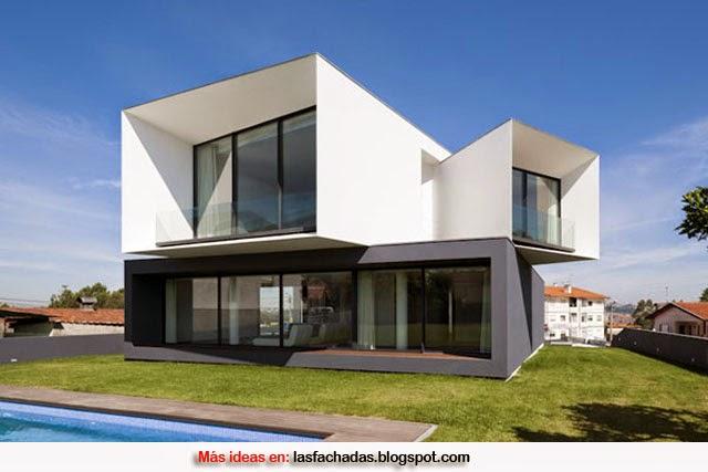 Colores para fachadas de casas feng shui fachadas de for Colores en casas minimalistas