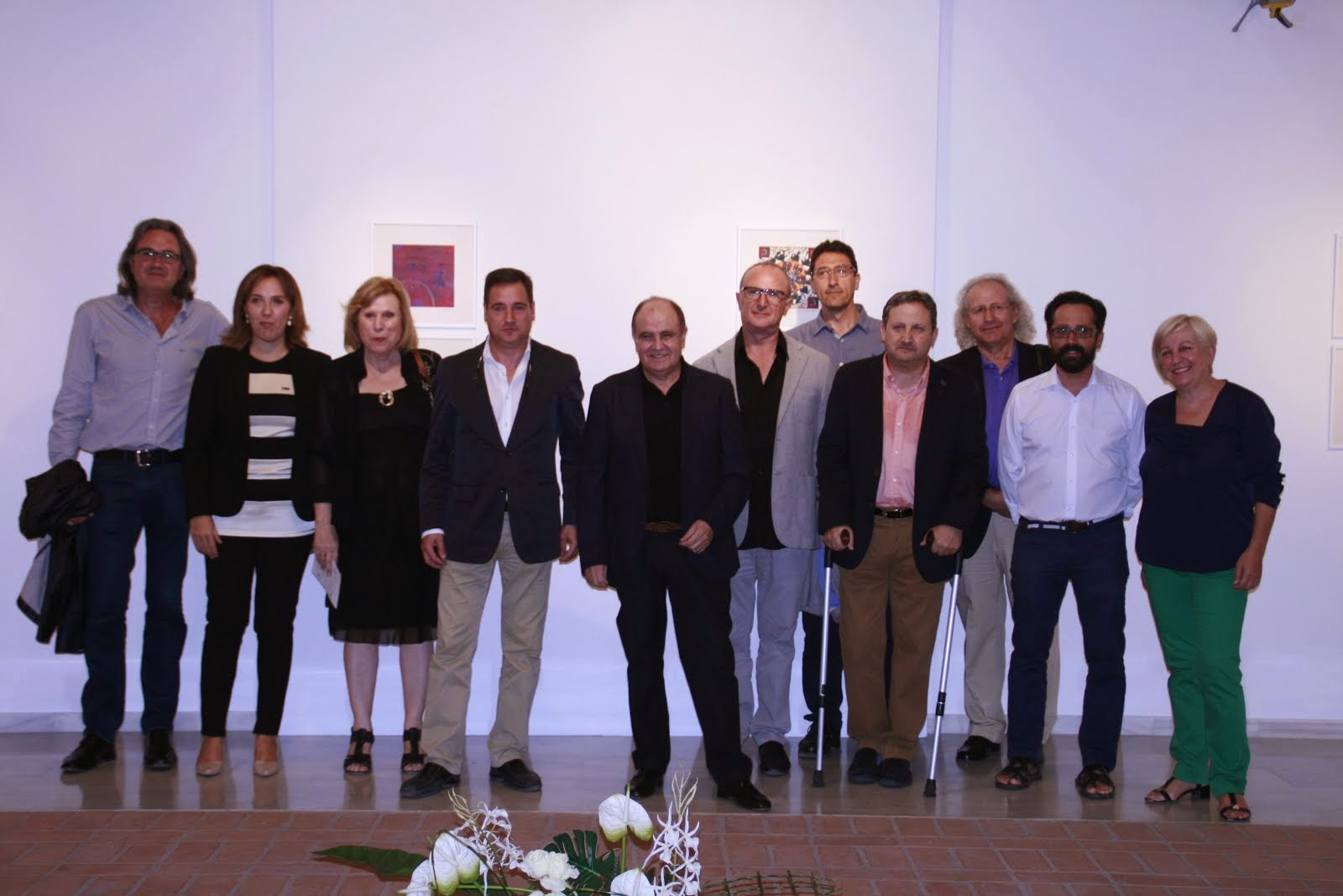 INAUGURACIÓN ARTE CISORIA EN CENTRE D'ART TALLER D'IVARS (BENISSA)