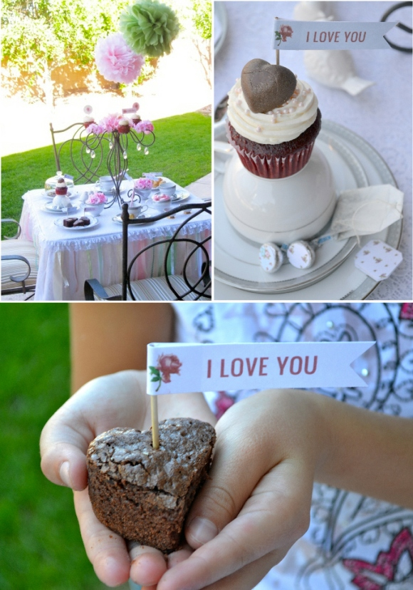 Last minute valentine 39 s day tea party ideas party ideas for Last minute party ideas